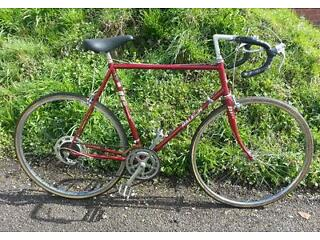Raleigh vintage racing bike
