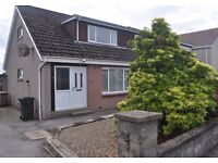 2 double bedroom semi-detached house c/w large enclosed garden in Overton Circle, Dyce, AB21 (2 bed)