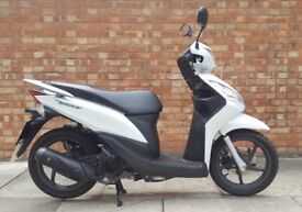 Honda Vision 110 (66 REG), Immaculate condition, ONLY 400 miles