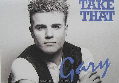 TAKE THAT STICKER GARY BARLOW 1994 Original OLIVERS BOOKS UK ONE ONLYMint New!