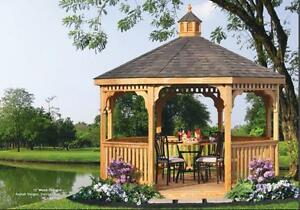 GAZEBOS! – great selection from $3995