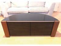 TV Cabinet / Stand - High Black Gloss - MDA Designs Sirius 1200 Beam