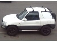 Toyota RAV4 car derived van 4x4 -roof bars--new exhaust -mot