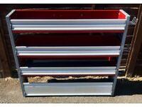 Van Racking / Shelving - BOTT - 3 Shelves - Very Good Condition - Heavy Duty - Includes Fixings