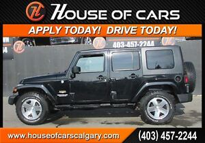 2008 Jeep Wrangler Unlimited Sahara  *$154 Bi-Weekly with $0 Dow