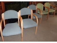 CHAIRS - VARIOUS STYLES - DINING/OFFICE FROM £5 EACH