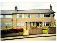 3 bed house N Wales exchange for 2 bed Cumbria. Carlisle. Scotland.