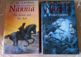 2 X Chronicals of Narnia (C.S. Lewis) Hardback Books