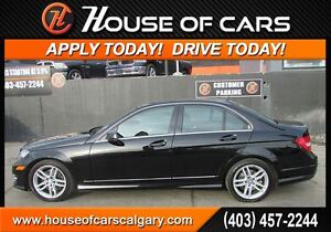 2014 Mercedes-Benz C-Class C300 4MATIC   *$239 Bi-Weekly with $0