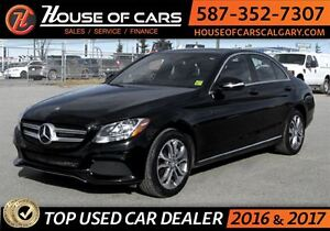 2015 Mercedes-Benz C-Class C300 4MATIC / Pano Roof / Back Up Cam
