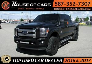 2015 Ford F-350 Lariat Platinum / Navi / Leather/ SunRoof
