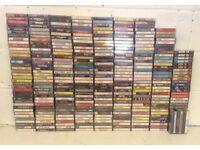 Cassette Tapes - 300+ Job lot @ £120 (40p each)