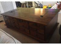 Laura Ashley Garrat 12 drawer coffee table