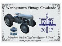 FORD THEME FOR 45TH WARINGSTOWN VINTAGE CAVALCADE ( Tractors, Cars, Lorries and Motorbikes)