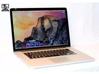 """ 2015 Retina Display 15"""" Apple MacBook Pro Core i7 2.2Ghz 16gb 250GB SSD Final Cut Pro VectorWorks"""