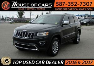2016 Jeep Grand Cherokee Limited / 4WD / Leather / Sunroof /