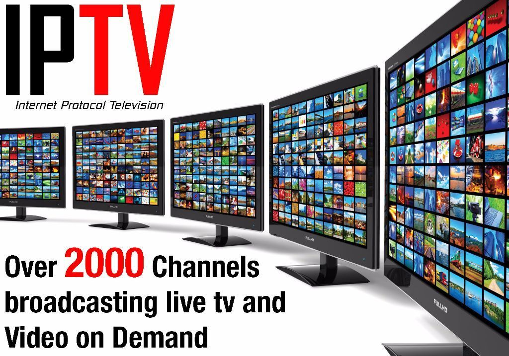 Iptv Subscription 3 Months For Over 2000 Channels In