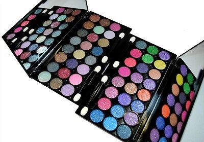 Glitter Eyeshadow ( Diamond Dust ) 48 Color Two Eyeshadow Palette Set