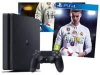 ps4 2 controllers Fifa 18, GTA 5, Fifa 17