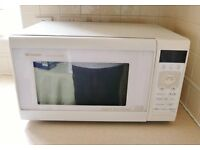Sharp Grill Microwave Oven Model R-4N76(W)M Kitchen Small Appliance