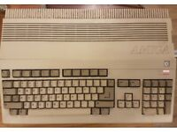 Commodore Amiga 500 with UK PSU, Mouse and Instructions