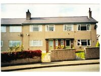 3 bed Council house N Wales coast exchange for 2 bed Carlisle or Scotland