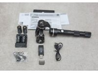 Fieyu Tech G4 QD 3 axis Gimbal + Remote Control