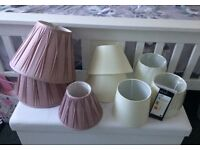 Lamp shades from £1