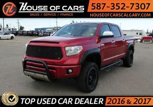 2014 Toyota Tundra Platinum 5.7L V8 / Navi / Leather / Sunroof