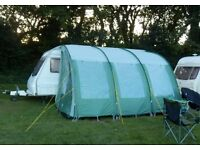 Panama XL390 Awning Green