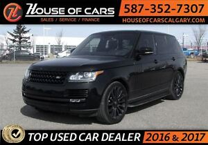 2016 Land Rover Range Rover 5.0L V8 Supercharged Black Edition
