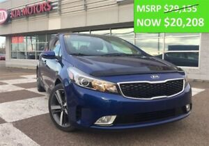 2017 Kia Forte SX - $8947 off MSRP - only 2 left!!!