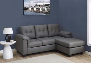 MEUBEL.CA  $499 - SOFA LOUNGER – BONDED LEATHER --  4 colors available