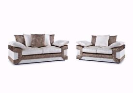 best selling ! BRAND NEW DINO CRUSH VELVET SOFAS CORNER OR 3+2 WITH EXPRESS DELIVERY!!!
