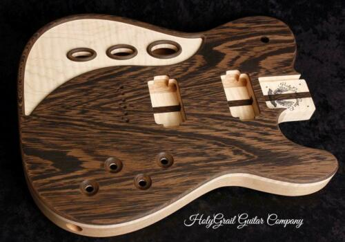 HH Telecaster Body • Flame Maple • Wenge • Mahogany  / Tele Body / Pre-Order