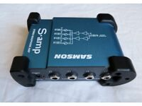 Samson S-amp - 4-channel headphone amplifier ideal for home or studio recording