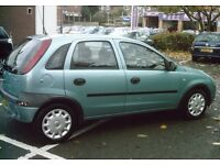 Vauxhall corsa, 1.2 petrol, 5 door hatchback Green *LONG MOT