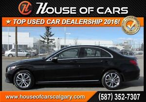 2015 Mercedes-Benz C-Class C300 4MATIC  *295 Bi-Weekly with $0 D