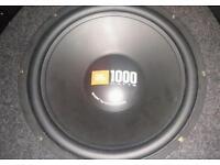 """1000w jbl 12"""" sub"""