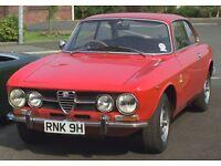 Classic Alfa Romeo 1750GTV restoration project