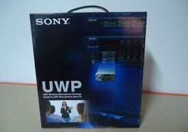 BRAND NEW BOXED SONY UWP-X8 / K62 UHF WIRELESS MICROPHONE PACKAGE