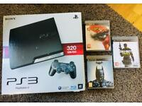 Sony PlayStation 3 + 3 games