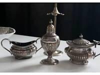 Antique Thomas wilkinson & sons birmingham silver plate pieces