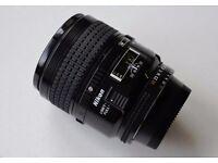 Nikon AF Micro 60mm f2.8 AIS lens in excellent condition