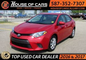 2016 Toyota Corolla LE / Back up Camera /  Bluetooth