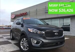 2017 Kia Sorento LX TURBO - REDUCED BY $8708!!