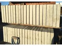 🍁 CONCRETE PLAIN FENCING BASE PANELS/ GRAVEL BOARDS > NEW