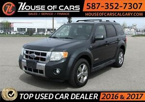 2008 Ford Escape Limited 3.0L / 4X4 / Leather Seats
