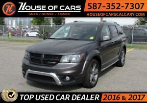 2017 Dodge Journey Crossroad / AWD / Leather /