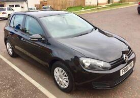 VW Golf TSI S 1400 Petrol Black